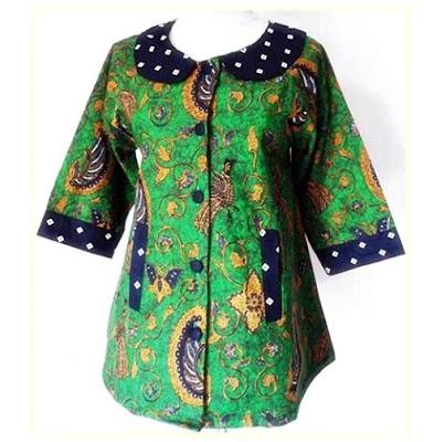 Baju Batik Terbaru 20