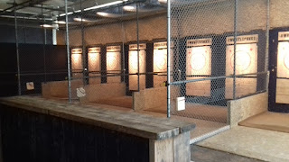 Urban Axe Throwing at Whistle Punks in Manchester
