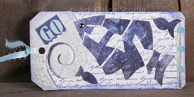 Go Fish Altered Art