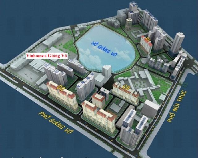 Quy hoạch Chung cư Vinhomes Giảng Võ