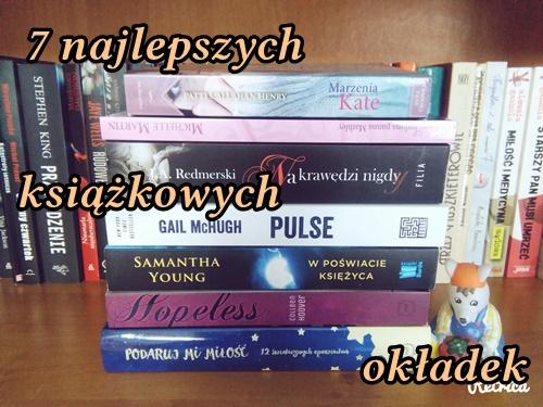 7 najlepszych książkowych okładek