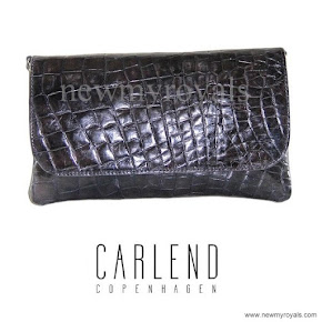 Crown princess Mary Style Carlend Copenhagen venassa clutch bag
