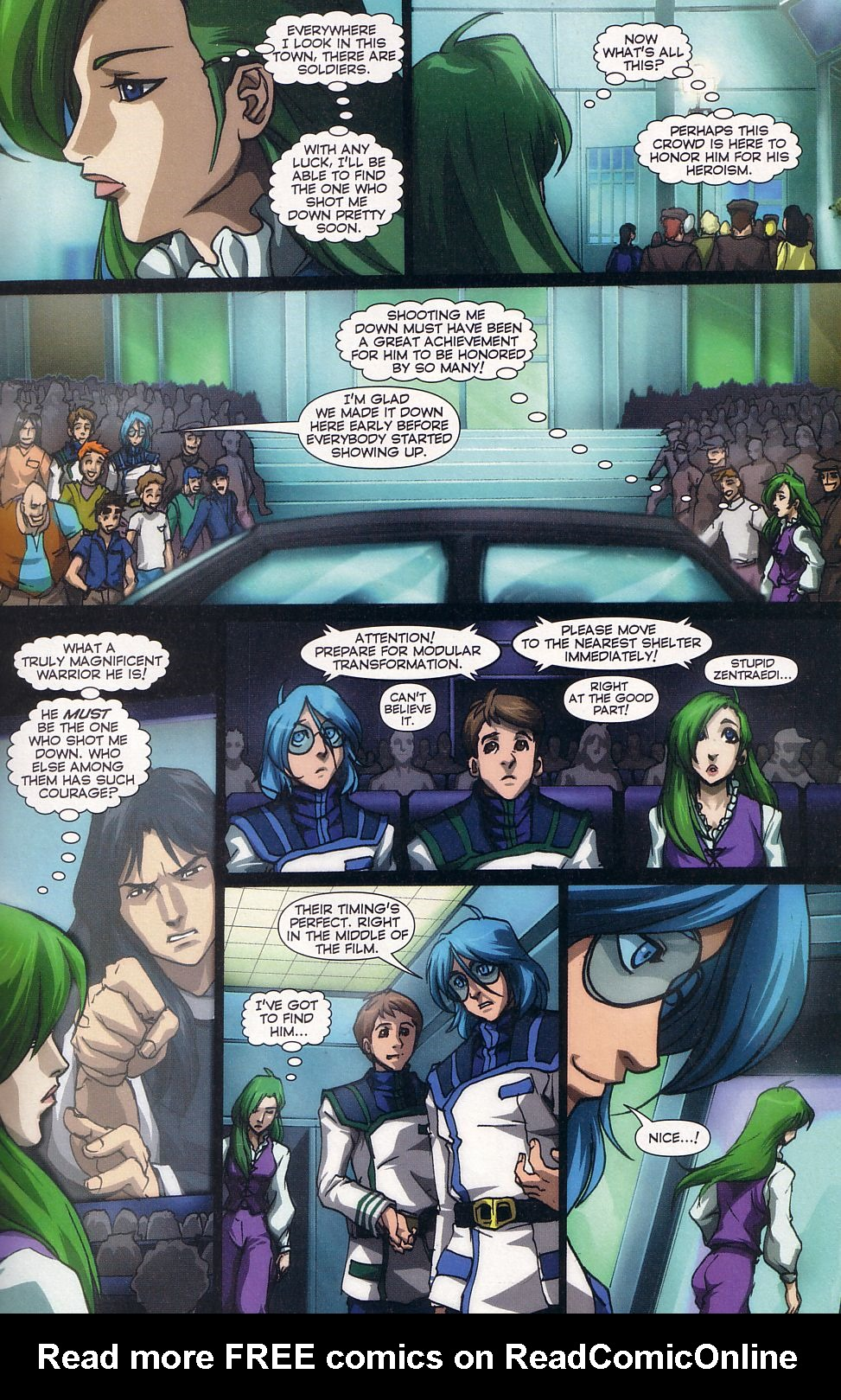 Read online Robotech: Love and War comic -  Issue #5 - 12