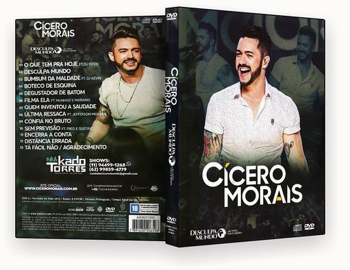 CAPA DVD – Cicero Morais Desculpa Mundo DVD-R