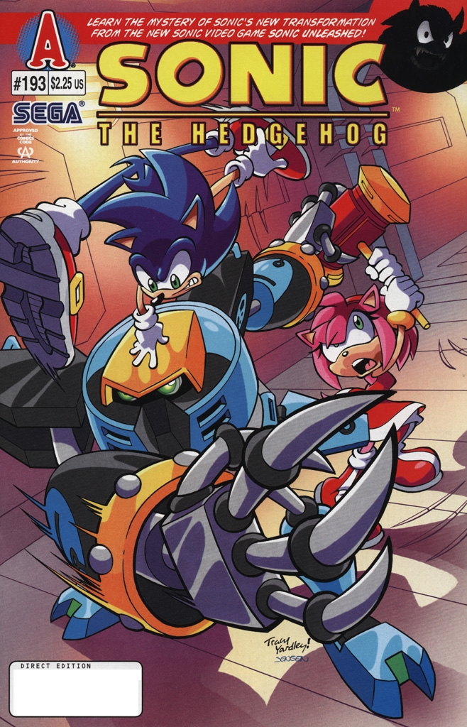 Read online Sonic The Hedgehog comic -  Issue #193 - 1