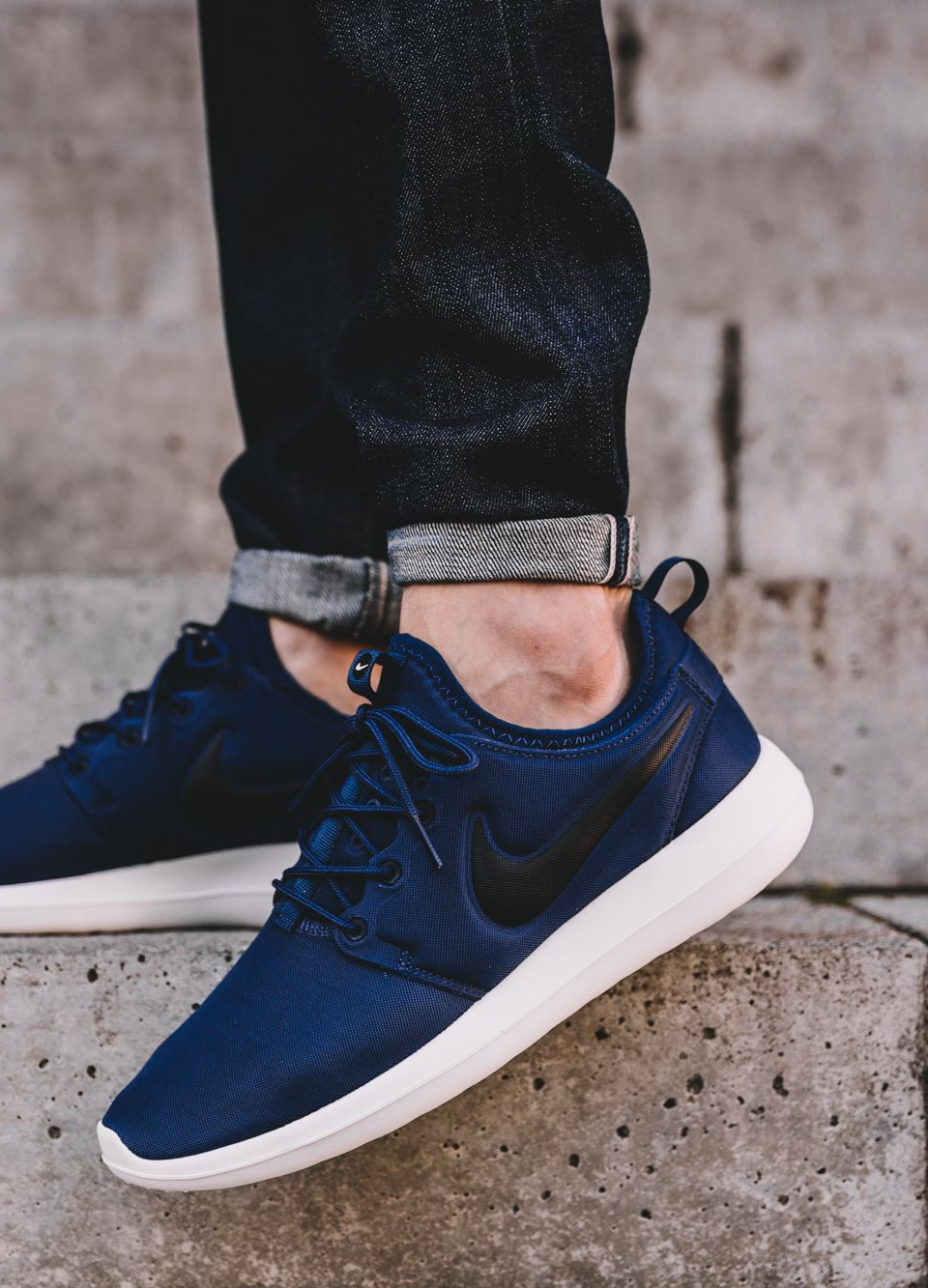 Nike Nike Roshe Two Trainers In Blue 844656 400 Asos