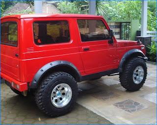 Modifikasi mobil katana terbaru ceper jimny 4x4 gx long