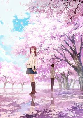 """Nuevo póster de la película """"Kimi no Suizo o Tabetai"""" (君の膵臓をたべたい)"""