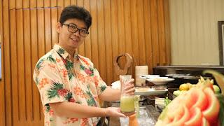Soup Honeydew Melon & Mint Soup Ambhara Hotel