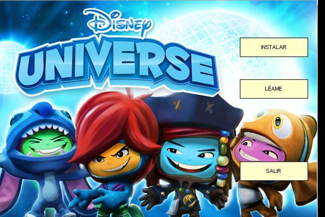 Disney Universe 2011 PC Full Español ISO