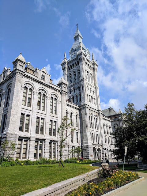 A self-guided architecture walk in downtown Buffalo: Erie County Hall / Courthouse