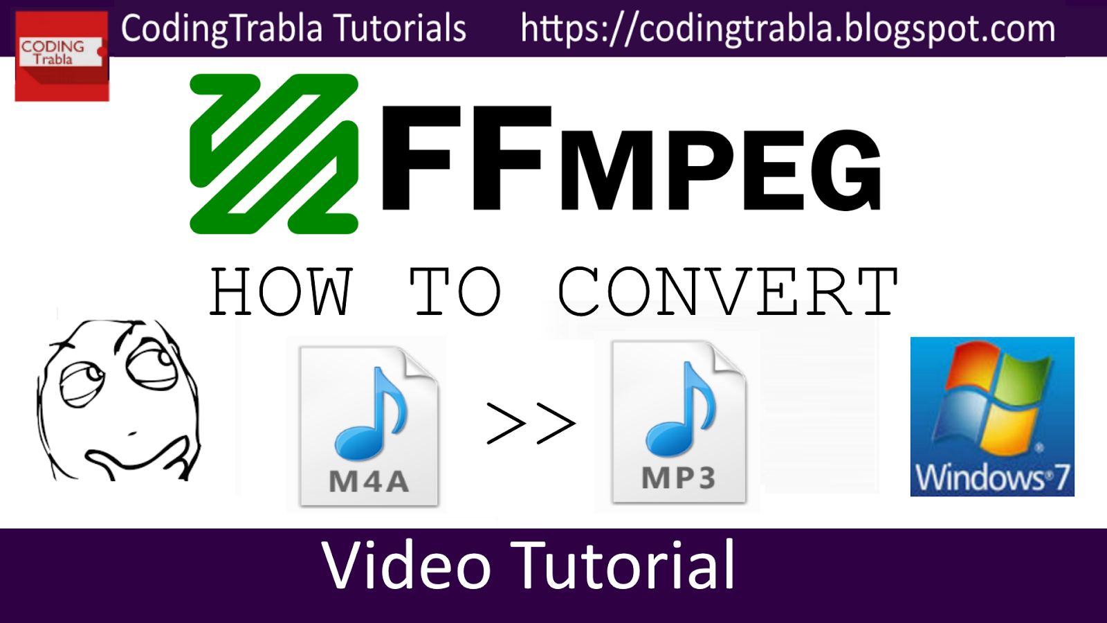 codingtrabla: How to convert m4a to mp3 audio using FFMPEG