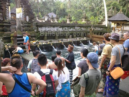 Tirta Empul Temple, exotic appeal in Bali