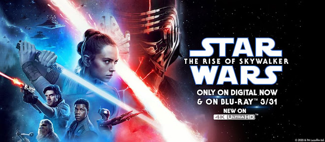 OUT OF HYPERSPACE AND ONTO HOME ENTERTAINMENT FROM MARCH 2020