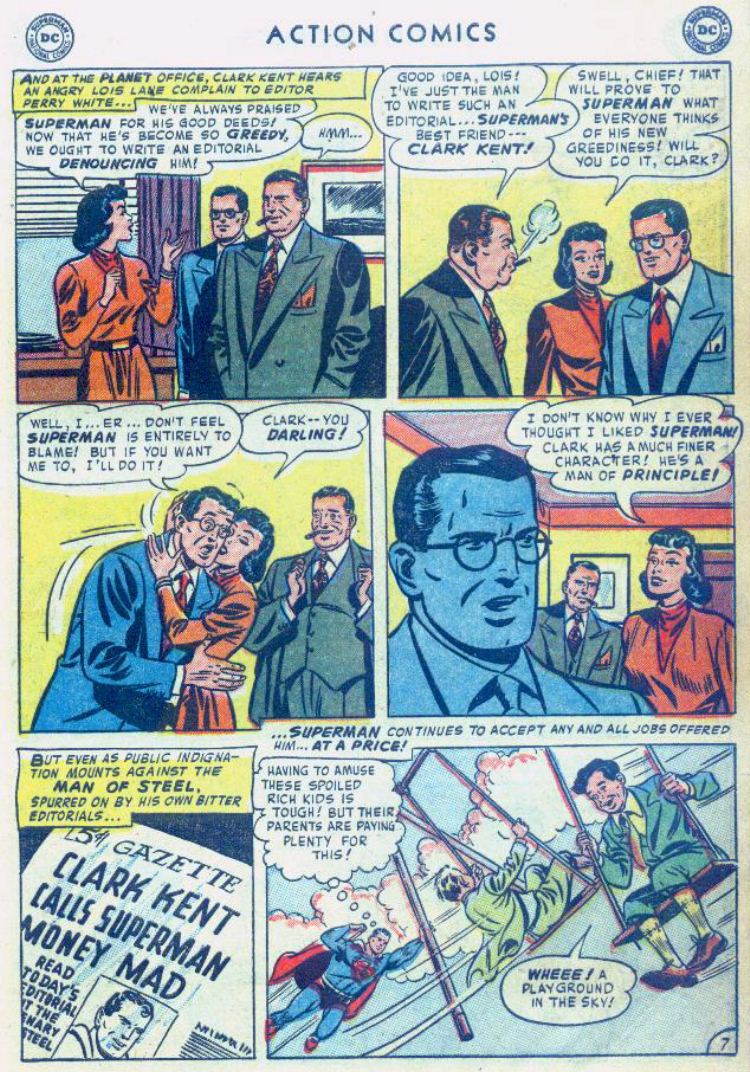 Read online Action Comics (1938) comic -  Issue #176 - 9