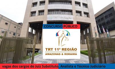 TRT11 Amazonas & Roraima concurso público 2016