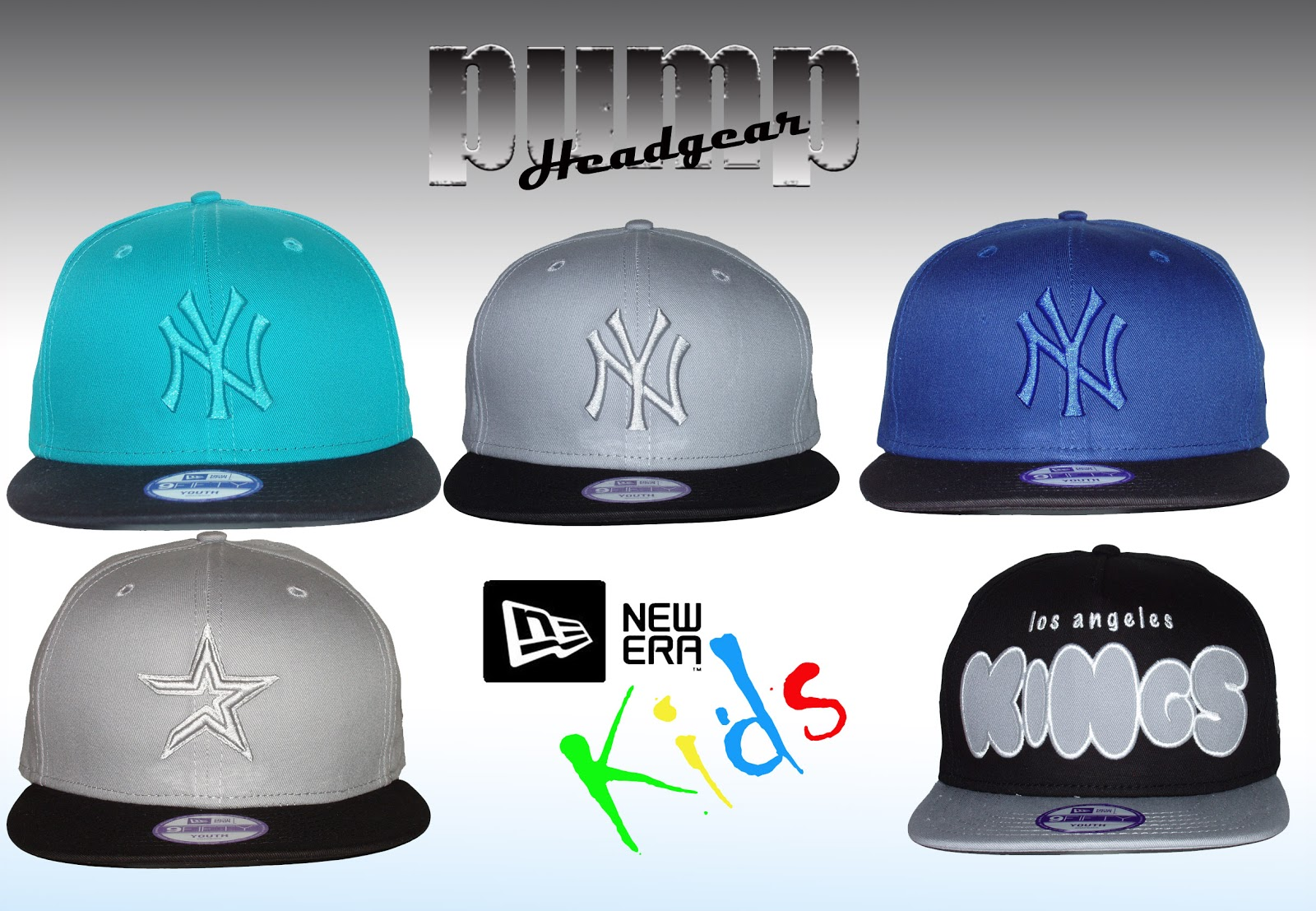 Kids New Era Snapback Caps 2d1fd9cef22