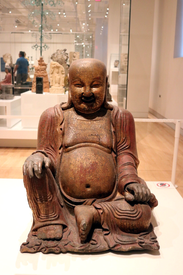 Budai the Monk - The Royal Ontario Museum - Tori's Pretty Things Blog
