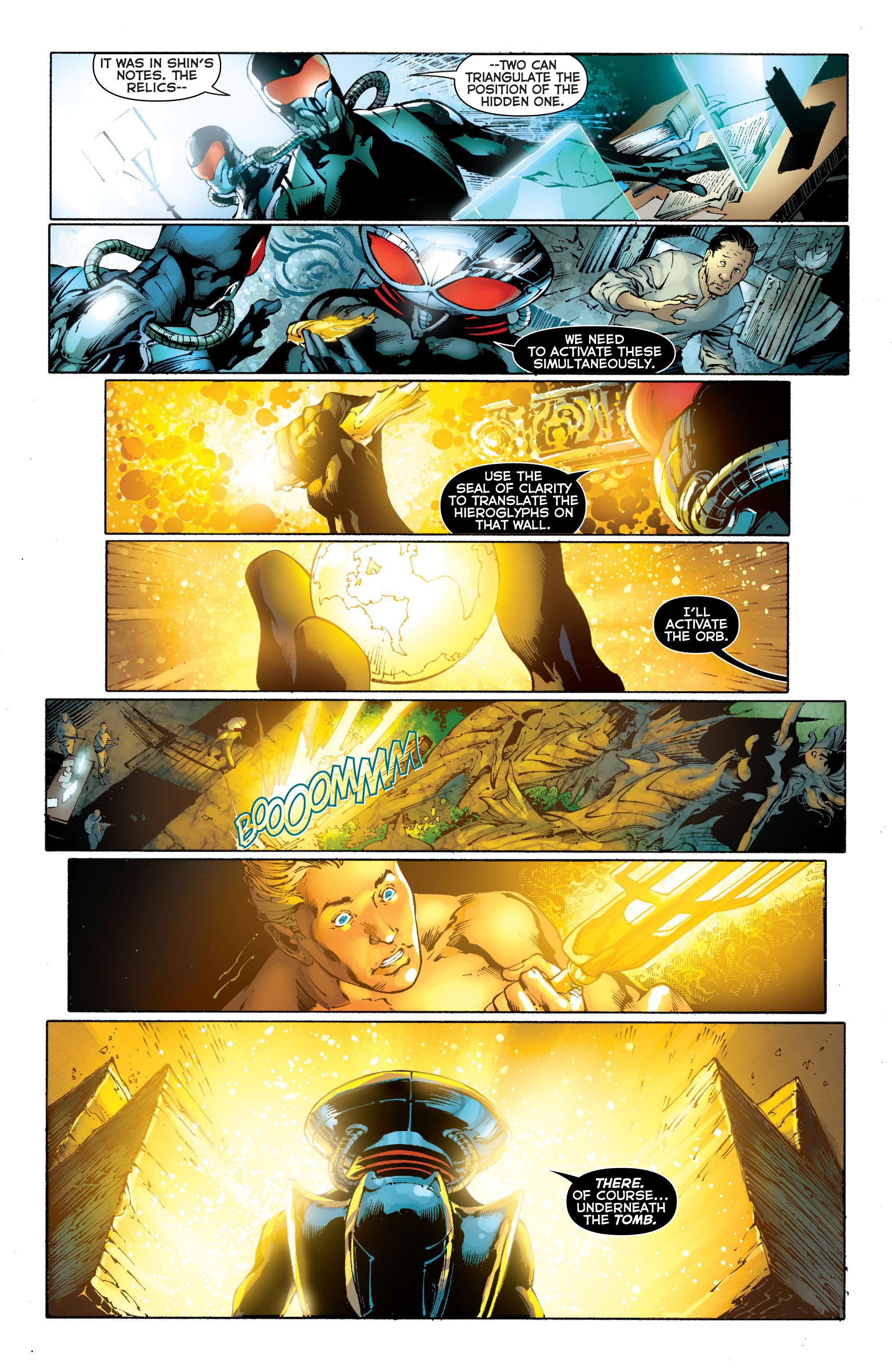 Read online Aquaman (2011) comic -  Issue #11 - 19