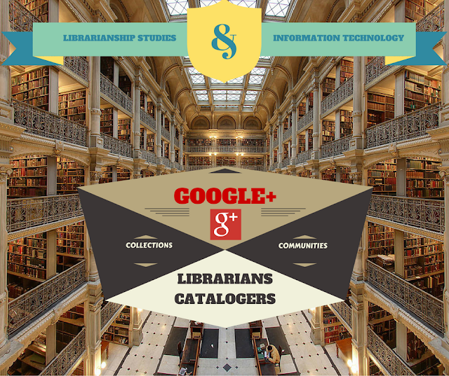 Google Plus Collections & Communities for Librarians & Catalogers