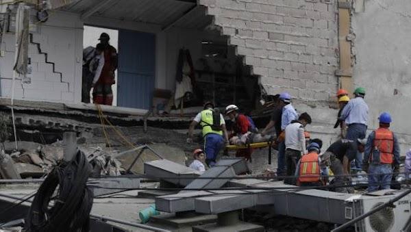 Suman 216 los muertos por terremoto; se dispara cifra en CDMX