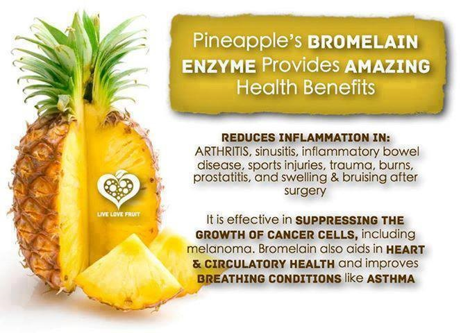 Bromelain , pineapple