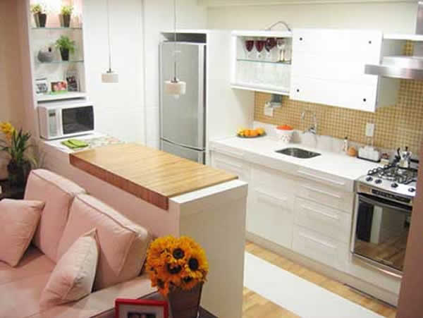 Incredible Small American Kitchen Designs Decorate Cuisine For
