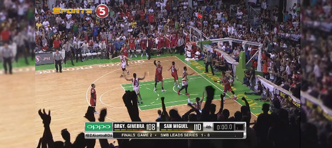 Joe Devance's Game-Tying Shot To Force OT in Game 2 (VIDEO)