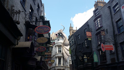 view of Diagon Alley