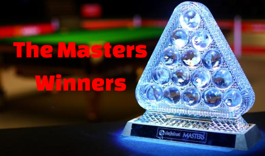 defabet, the masters, snooker, championship, champions, winners, all-time, list.