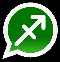 Iconos de los signos zodiacales para promocionar grupos de Whatsapp de sagitario