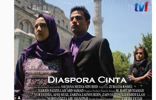 Original Sound Track OST Diaspora Cinta, lagu tema drama Diaspora Cinta, lagu latar, download OST Diaspora Cinta, tonton video klip lagu Cinta sesungguhnya - Sabhi Saddi