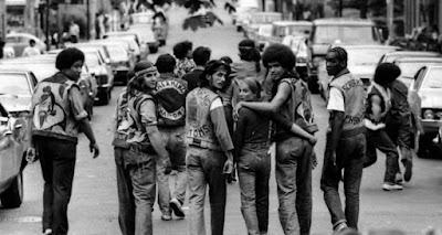 Pandillas callejeras del Bronx - Nueva York - años 70