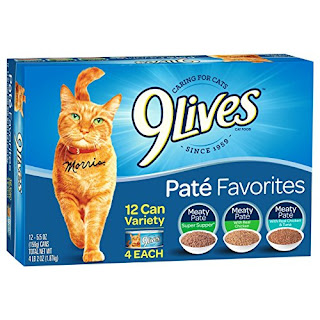 9Lives Meaty Pate Wet Canned Cat Food