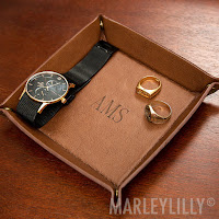 personalized valet tray for small items