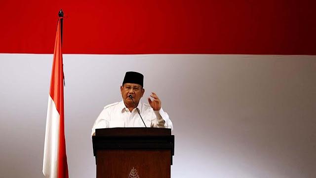 Prabowo: Tak Usah Nakut-nakutin Kita dengan Makar