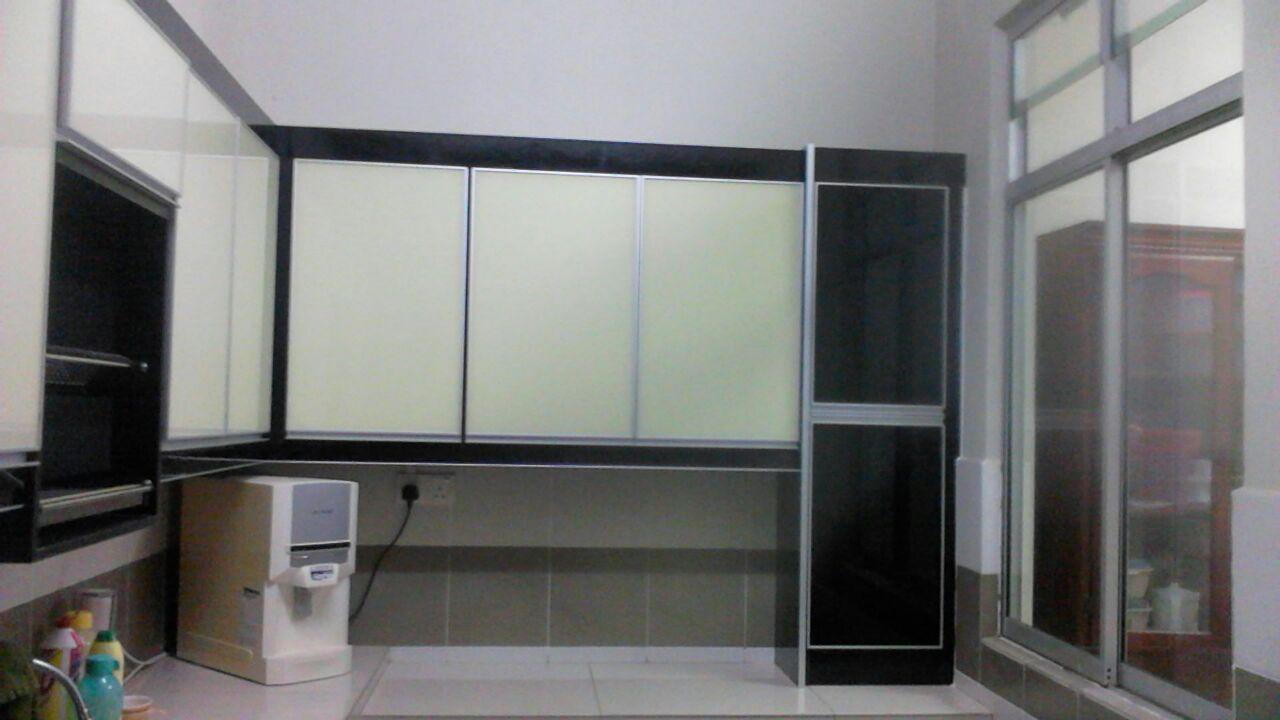 kabinet dapur terus dari kilang Kabinet dapur duyung dan