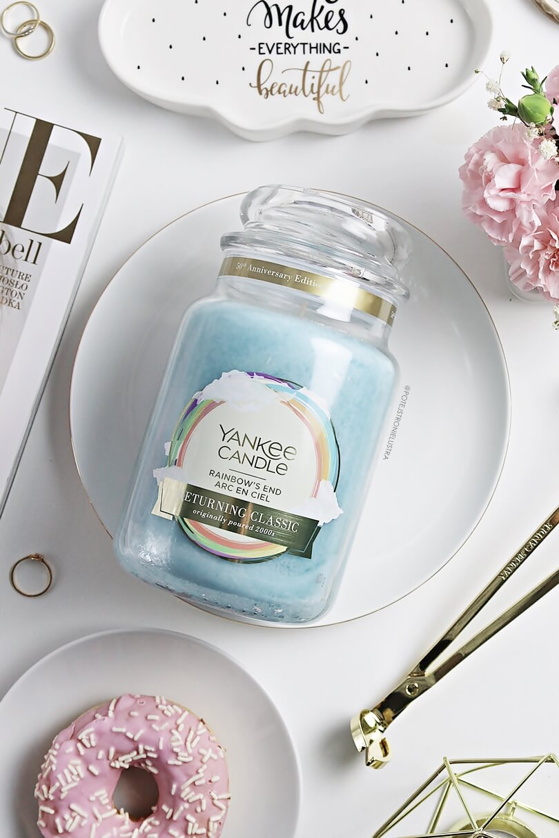 yankee candle rainbow's end 2019