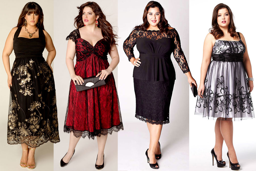Cocktail Plus Size Wedding Guest Dress