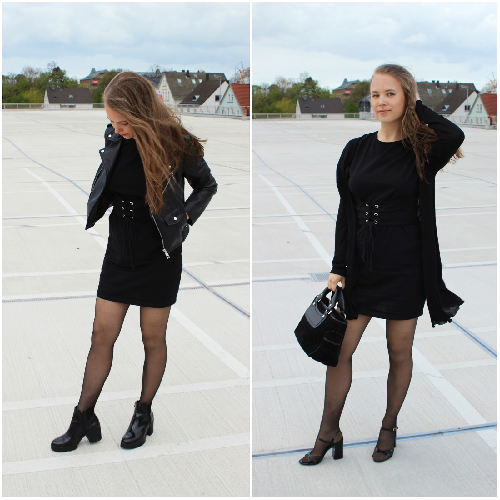 The Corset Dress // Two Styles