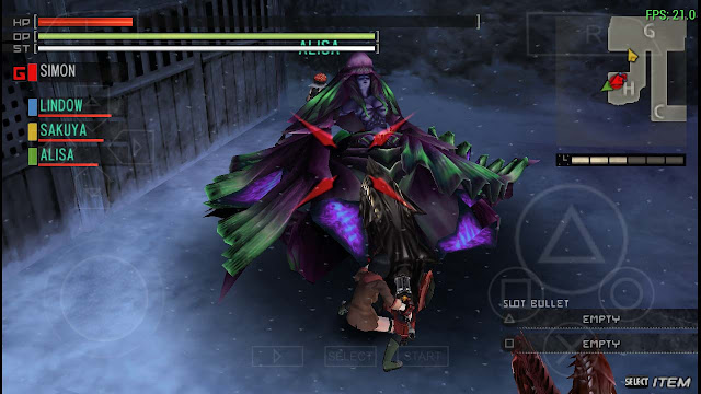 cara seting emulator android god eater
