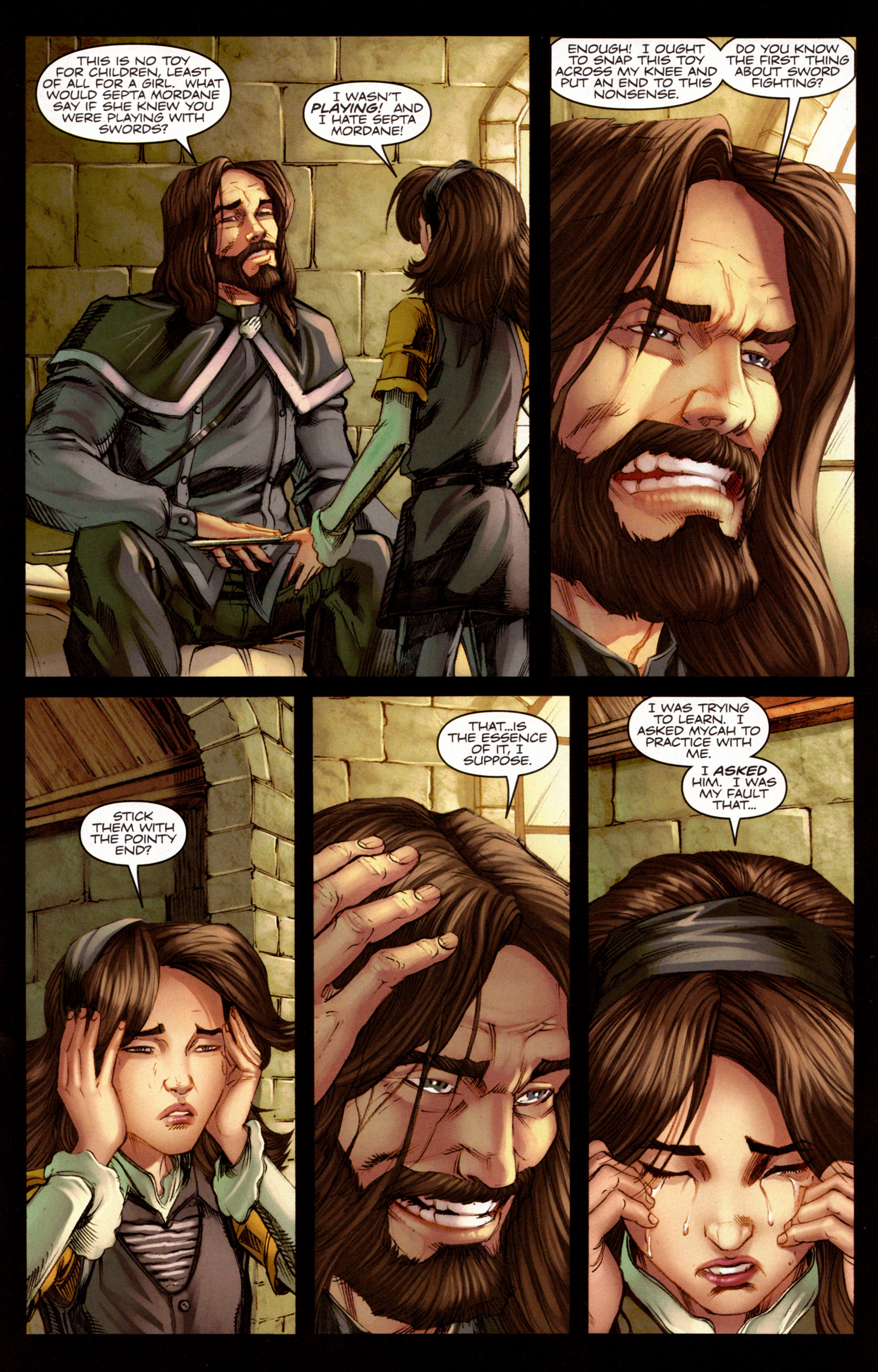 Read online A Game Of Thrones comic -  Issue #7 - 16