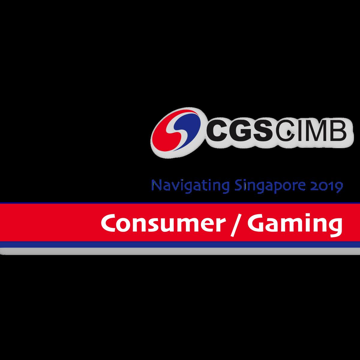 Navigate Singapore 2019 ~ Consumer/Gaming - CGS-CIMB Research | SGinvestors.io