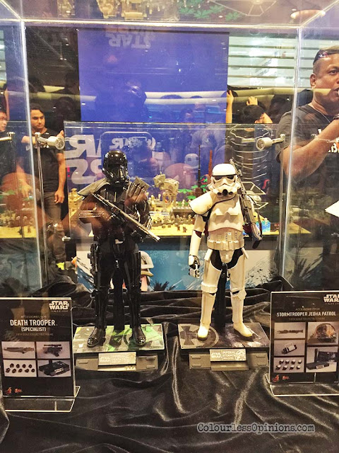 star wars hot toys figurines death trooper stormtrooper jedha patrol