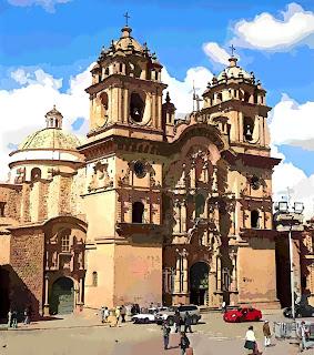 A Bela Iglesia de la Compañía de Jesús, em Cusco