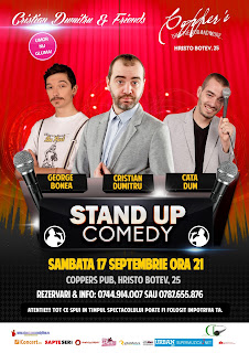 Stand-Up Comedy Sambata 17 septembrie Bucuresti