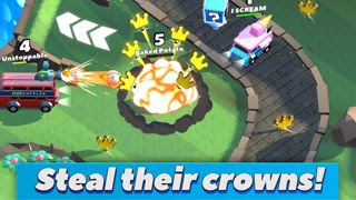 Crash of Cars - Grab Those Crowns!