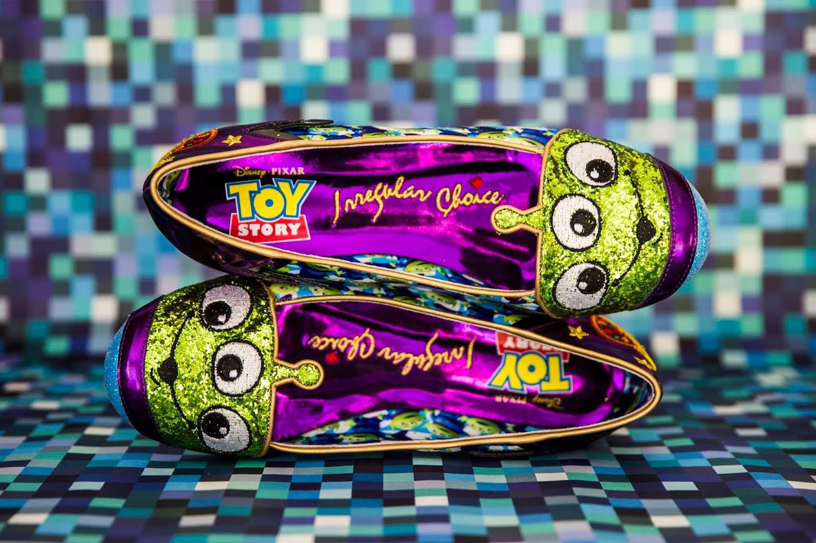 Eternally Grateful Shoes Irregular Choice Toy Story Collection