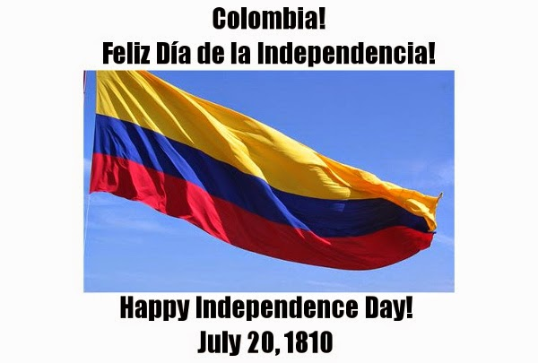 Every Day Is Special: July 20 – Independence Day in Colombia