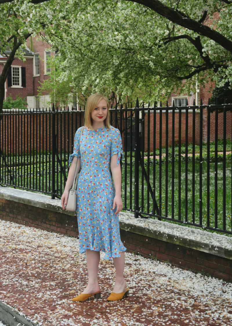 Floral Midi Dress | Organized Mess